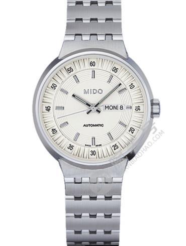 美度完美系列M7330.4.11.1银色表带