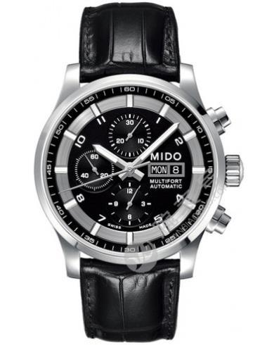 美度舵手系列M005.614.16.057.21黑色表盘