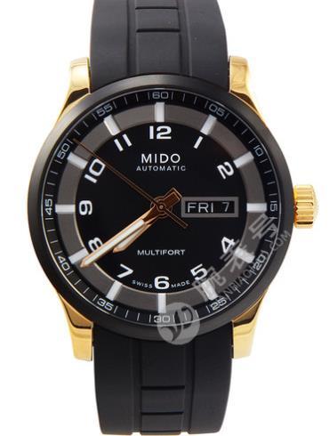 美度舵手系列M005.430.37.057.09黑色表盘
