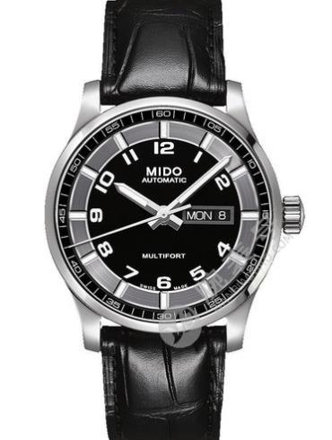 美度舵手系列M005.430.16.052.00黑色表盘