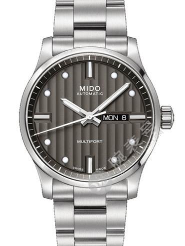 美度舵手系列M005.430.11.061.00精钢表扣