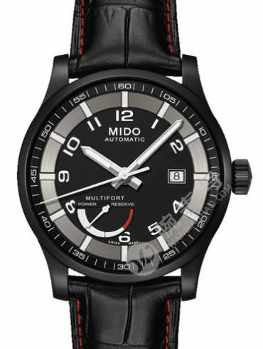 美度舵手系列M005.424.36.052.22黑色表盘