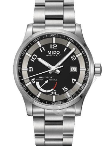 美度舵手系列M005.424.11.052.02黑色表壳