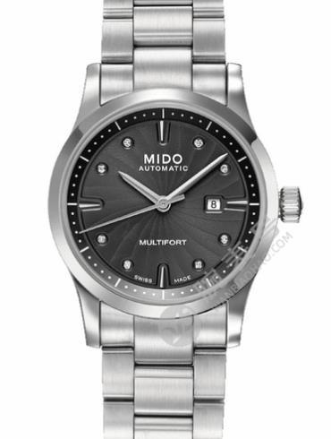 美度舵手系列M005.007.11.066.00银色表带