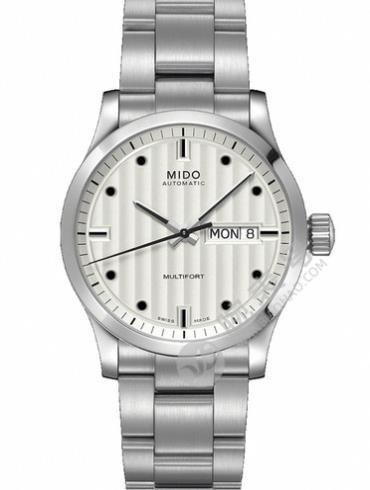 美度舵手系列M005.007.11.036.00银色表带