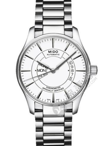 美度布鲁纳系列M001.431.11.011.00白色表盘