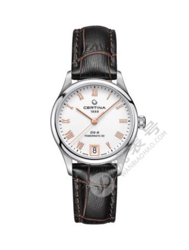 雪铁纳星悦系列女士腕表C033.207.16.013.00白色表盘