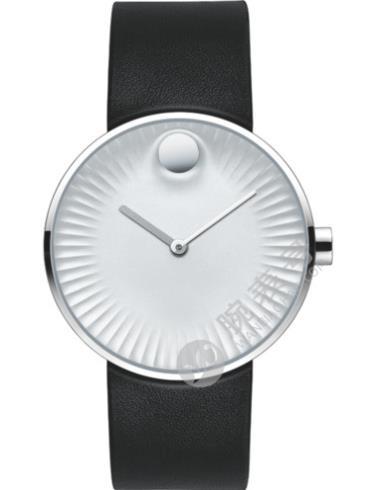 摩凡陀瑞界系列男士不锈钢腕表3680001黑色表带