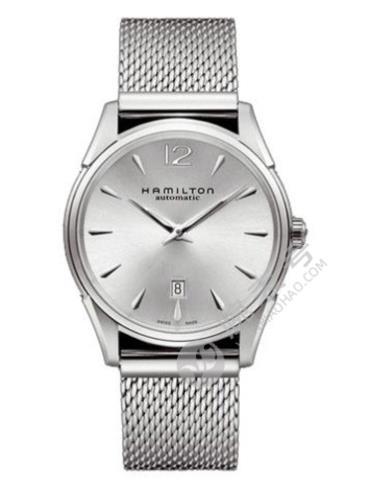 汉米尔顿美国经典爵士Slim系列H38615255银色表盘