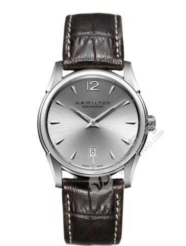 汉米尔顿美国经典爵士Slim系列H38515555银色表盘