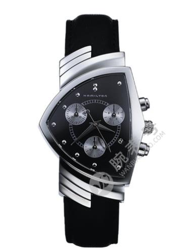 汉米尔顿美国经典未来轮廓系列H24412732黑色表盘