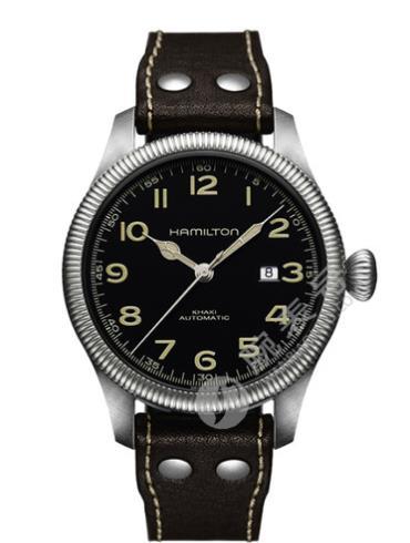 汉米尔顿卡其野战先锋系列H60515533精钢表扣