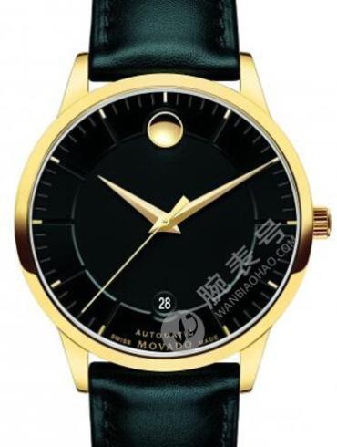 摩凡陀瑞动系列0606875黑色表盘自动机械男士手表