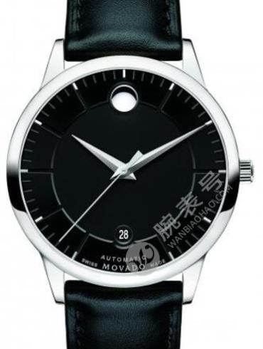摩凡陀瑞动系列0606873黑色表带男士石英手表