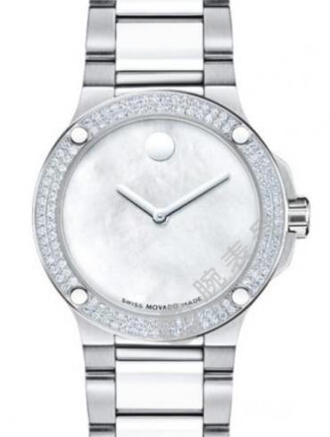 摩凡陀终极运动系列0606293白色珍珠贝母表盘