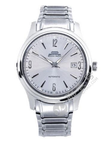 北京机械腕表系列B058200901S银色表盘