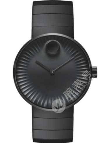 摩凡陀瑞界系列男士不锈钢腕表3680007精钢表扣