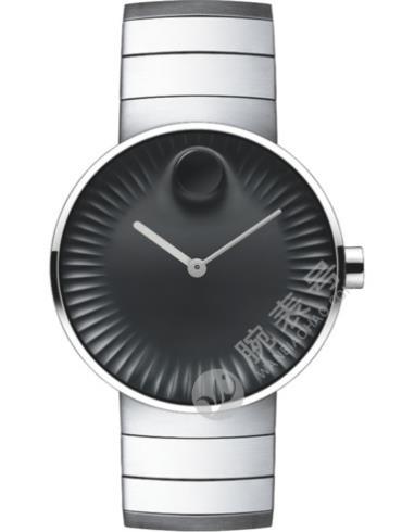 摩凡陀瑞界系列男士不锈钢腕表3680006表经40mm