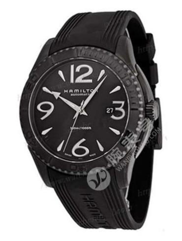 汉米尔顿美国经典系列VEAVIEW海洋系列H37785385黑色表盘