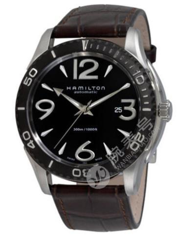 汉米尔顿美国经典系列VEAVIEW海洋系列H37715535黑色表盘