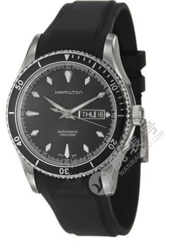 汉米尔顿美国经典系列VEAVIEW海洋系列H37565331黑色表盘
