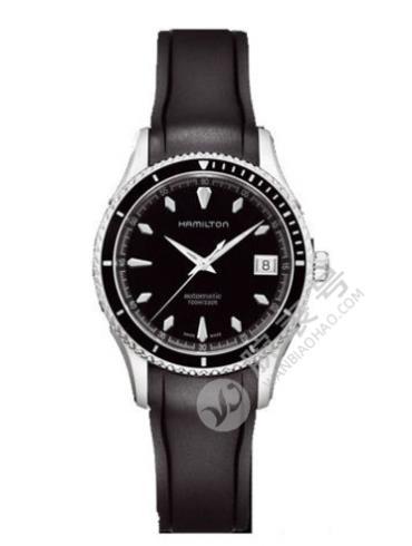 汉米尔顿美国经典海洋自动上链系列H37415331黑色表带