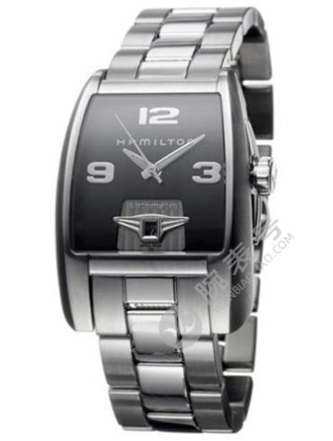 汉米尔顿美国经典布鲁克系列H33515133精钢表扣