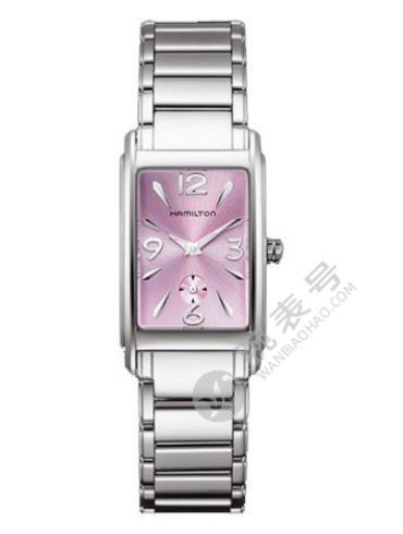 汉米尔顿美国经典爱慕系列H11411175精钢表扣