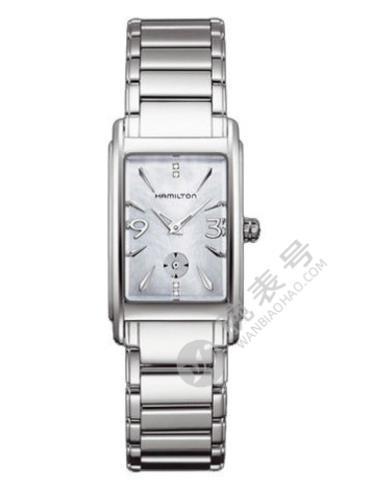汉米尔顿美国经典爱慕系列H11411115银色表带