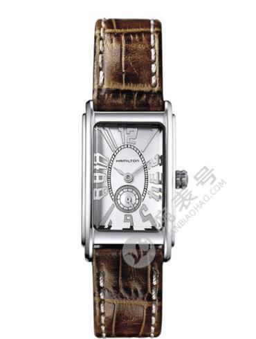 汉米尔顿美国经典爱慕系列H11211553棕色表带