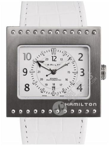 汉米尔顿卡其ACTION行动系列H79515913银白色表盘