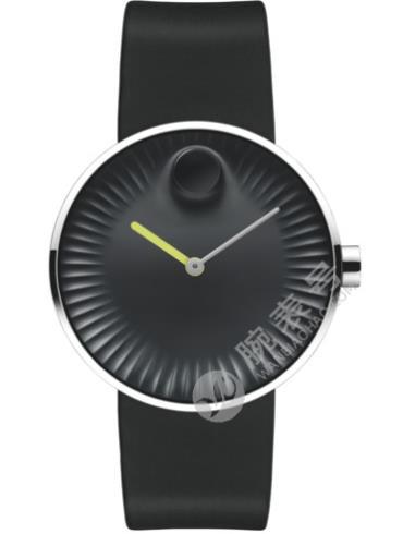 摩凡陀瑞界系列男士不锈钢腕表3680003黑色表盘