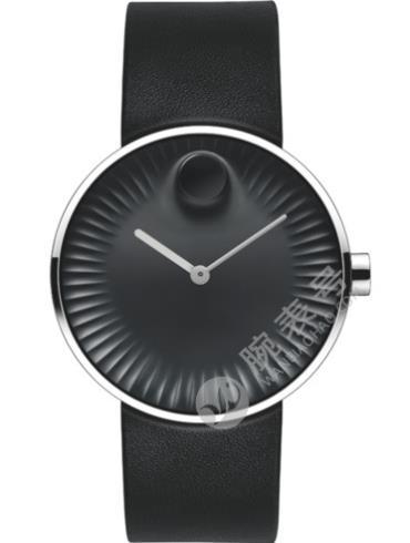 摩凡陀瑞界系列男士不锈钢腕表3680002黑色表盘