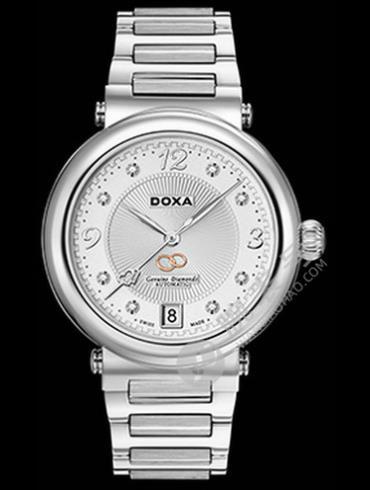 Doxa时度卡莱斯心悦系列D180SWH白色表盘