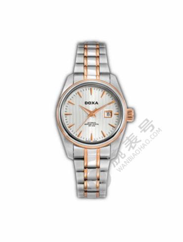 时度行政系列D123RSV蓝宝石水晶玻璃表镜女士手表