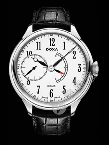Doxa时度八日链腕表系列125.10.015PR.01男表黑色表带