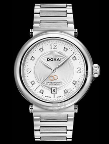 Doxa时度卡莱斯心悦系列D179SWH男表白色表盘