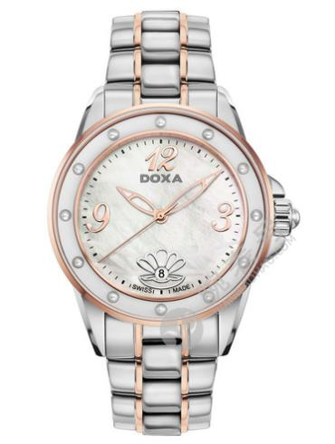 时度深海瑰宝系列女装腕表D207RMW间金色表盘
