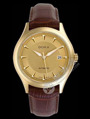 Doxa时度依诺系列213.30.301.02金色表盘