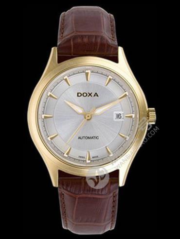 Doxa时度依诺系列213.30.021.02防水深度50m