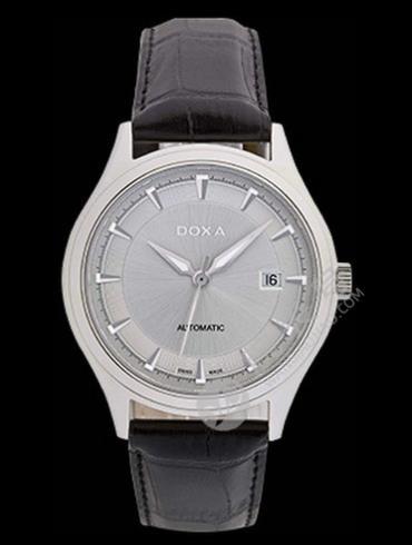 Doxa时度依诺系列213.10.021.01男表银灰色表盘