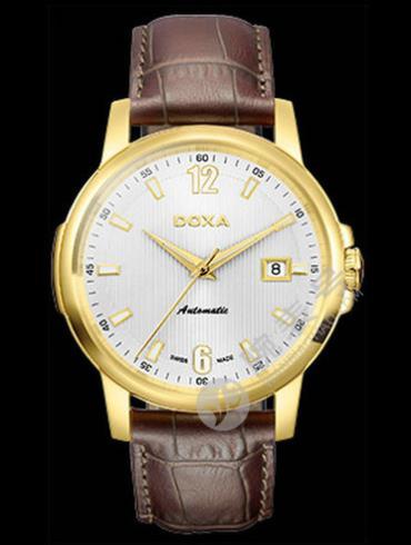 Doxa时度依诺系列205.30.023.02男表棕色表带