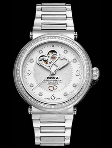 Doxa时度卡莱斯心悦系列D178SWH女表银色表带