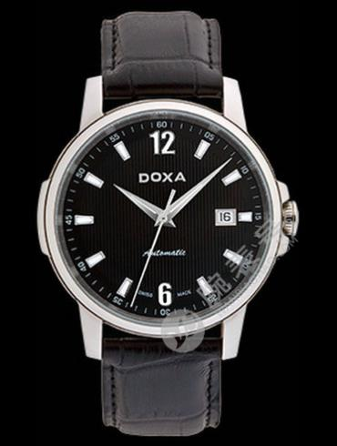 Doxa时度依诺系列205.10.103.01男表黑色表带
