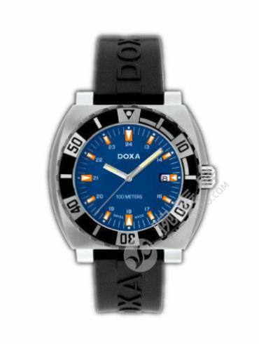 时度潜水系列650.10.201.20黑色表带