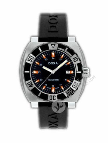 时度潜水系列650.10.101.20黑色表带