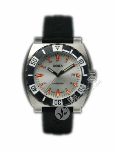 时度潜水系列650.10.021.20黑色表带