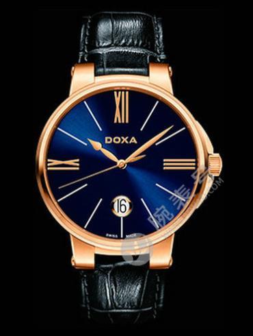 Doxa时度杜克系列131.90.202.03蓝色表盘