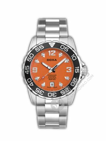 时度潜水200系列D113SOR银色表带