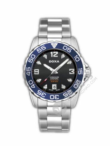 时度潜200水系列D113SBU银色表带